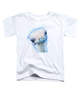 T-shirt With Emu Design Toddler T-Shirt