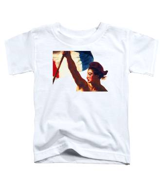 Tee Shirt Vive La France Liberty Weeps Toddler T-Shirt