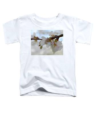Dogwood Branch Pink Toddler T-Shirt