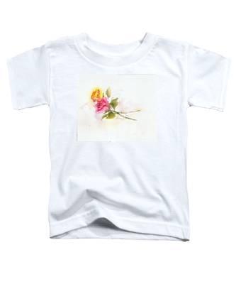 Two Roses Toddler T-Shirt