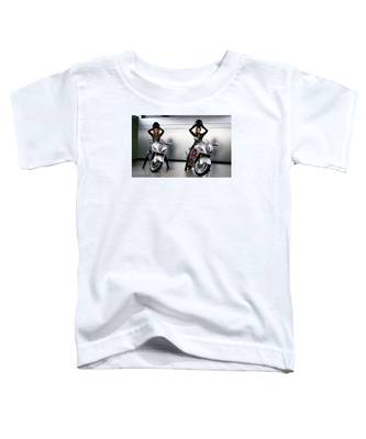 Two To Go And Go And Go. Toddler T-Shirt