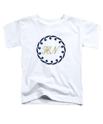 Wave Ring And Yellow Cipher Toddler T-Shirt