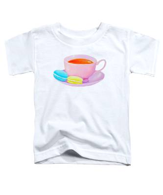 Tea And Macaroons Toddler T-Shirt