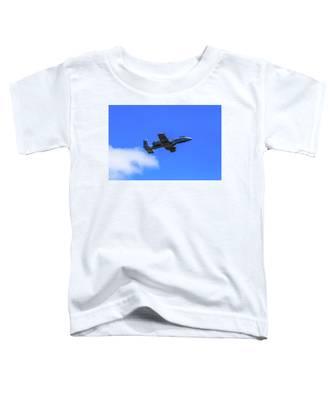A-10c Thunderbolt II In Flight Toddler T-Shirt