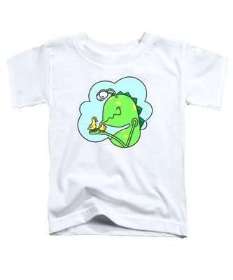Monster Kissing Ducklings Toddler T-Shirt
