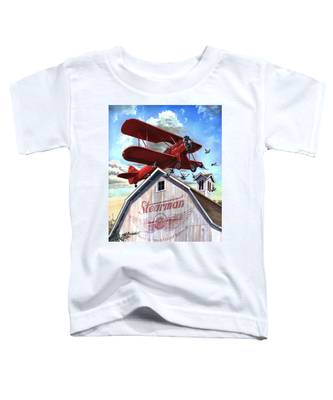 Barn Stormer - Customizeable Toddler T-Shirt