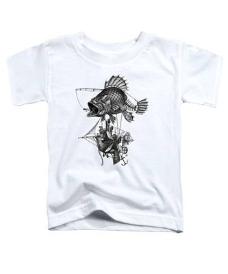 Bass Airship Toddler T-Shirt