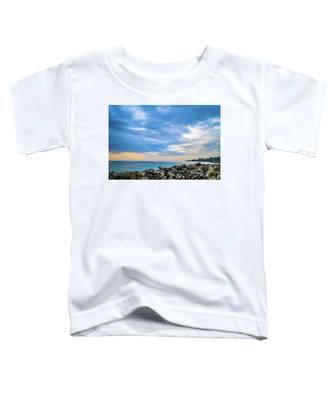Cloudy City Coastline Toddler T-Shirt