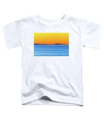 Golden Sunset Series I I Toddler T-Shirt