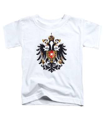 Imperial Coat Of Arms Of The Empire Of Austria-hungary 1815 Transparent Toddler T-Shirt