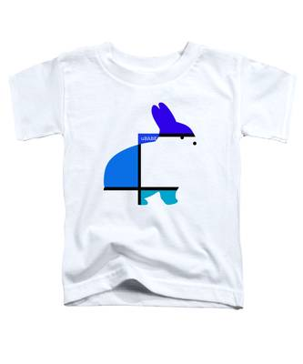 Lapin Agile Blue Toddler T-Shirt