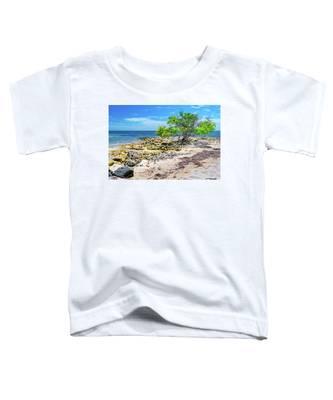 Lone Shore Tree Toddler T-Shirt