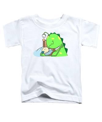 Peter And The Closet Monster, Kiss Toddler T-Shirt