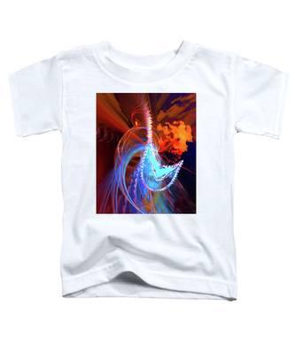 Phoenix Toddler T-Shirt by Skip Hunt