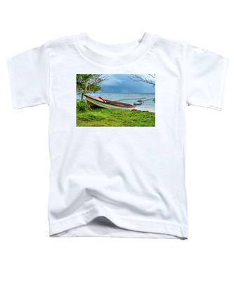 Rainy Fishing Day Toddler T-Shirt