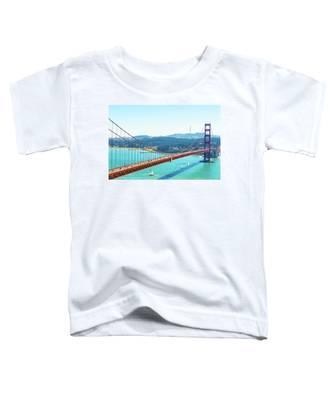 The Golden Gate Bridge I Toddler T-Shirt