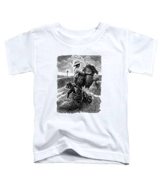 The Harvesters - Bw Toddler T-Shirt