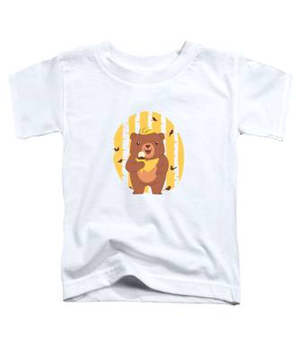 Brown Toddler T-Shirts