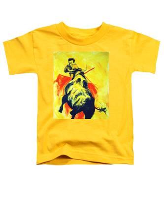 Spanish Bullfight Toddler T-Shirt