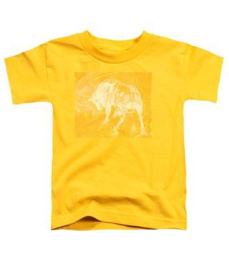 Yellow Bull Negative Toddler T-Shirt