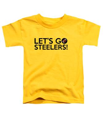 Let's Go Steelers Toddler T-Shirt