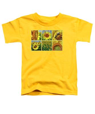 Sunflower Story - Collage Toddler T-Shirt
