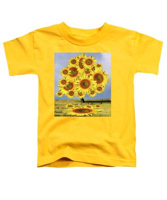 Sunflower Tree Toddler T-Shirt