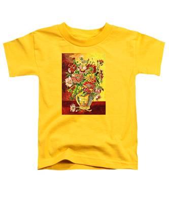 Vase Of Flowers Toddler T-Shirt