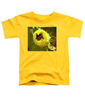 Flying Goldminer Toddler T-Shirt by Judy Kennedy
