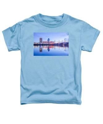 Springfield Massachusetts City Skyline Early Morning Toddler T-Shirt