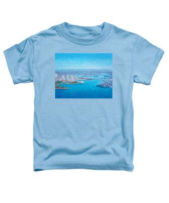 Sydney Harbour And The Opera House Aerial View  Toddler T-Shirt