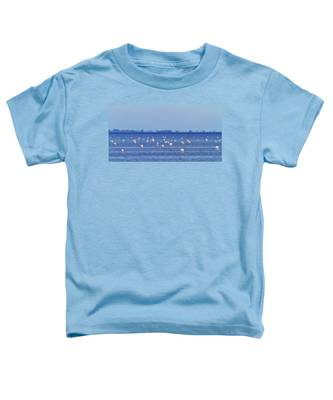 Flamingos In The Pond Toddler T-Shirt