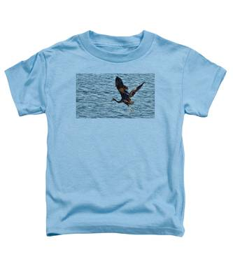 Heron In Flight Toddler T-Shirt