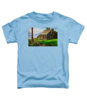 Lunch At An Old Cabin In The Blue Ridge Toddler T-Shirt