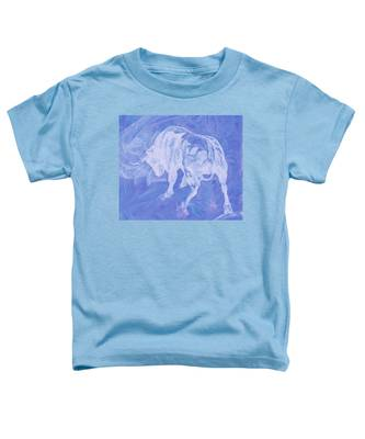 Purple Bull Negative Toddler T-Shirt