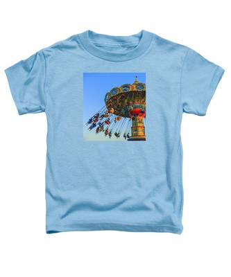 Santa Cruz Seaswing At Sunset 5 Toddler T-Shirt