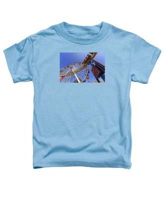 Santa Monica Pier Pacific Plunge Toddler T-Shirt