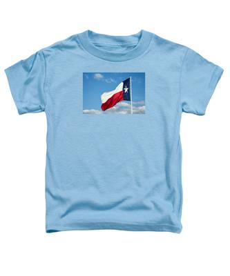 State Flag Of Texas Toddler T-Shirt
