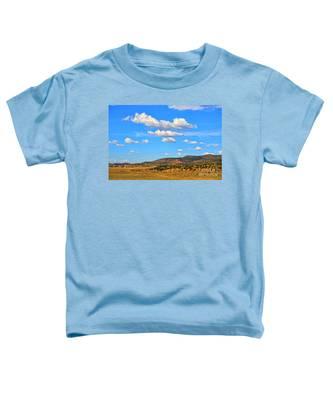 Cloudy Wyoming Sky Toddler T-Shirt
