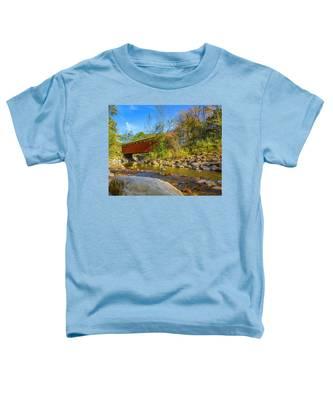 Everett Covered Bridge  Toddler T-Shirt