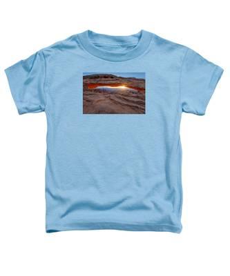 Awakening At Mesa Arch Toddler T-Shirt