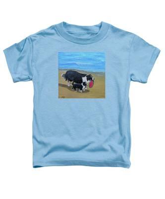 Beach Frisbee Toddler T-Shirt