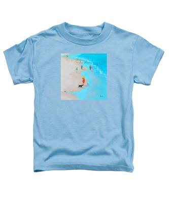 Beach Painting - Beach Day - By Jan Matson Toddler T-Shirt