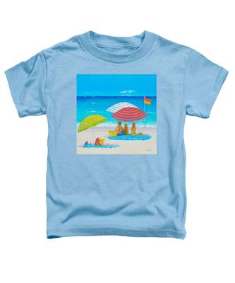 Beach Painting - Endless Summer Days Toddler T-Shirt