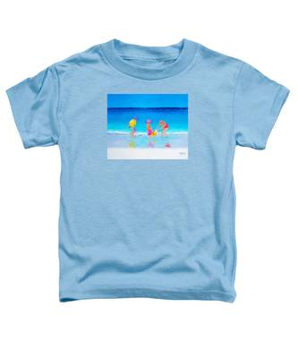 Beach Painting - Water Play  Toddler T-Shirt