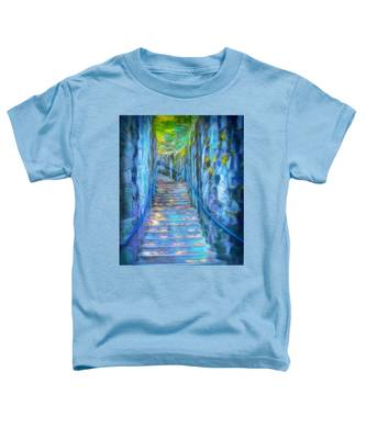 Blue Dream Stairway Toddler T-Shirt