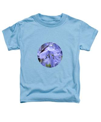 Bluebell Wood By V.kelly Toddler T-Shirt