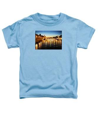 Bridge Over The Seine Toddler T-Shirt
