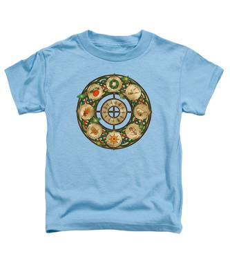 Celtic Wheel Of The Year Toddler T-Shirt