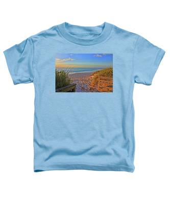 Coquina Beach By H H Photography Of Florida  Toddler T-Shirt